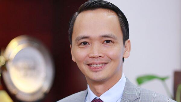 Ông Trịnh Văn Quyết, Chủ tịch HĐQT Tập đoàn FLC - Sputnik Việt Nam