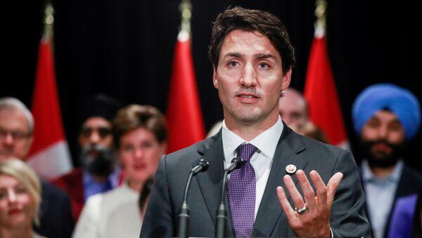 Thủ tướng Canada Justin Trudeau - Sputnik Việt Nam