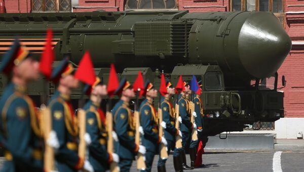 Tên lửa đạn đạo xuyên lục địa mang đầu đạn hạt nhân Yars RS-24 - Sputnik Việt Nam