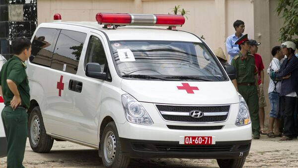 Машина скорой помощи во Вьетнаме - Sputnik Việt Nam