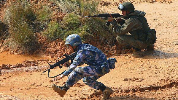 tập trận quân sự Nga-Trung - Sputnik Việt Nam