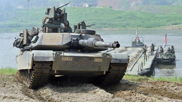 Xe tăng Mỹ - Sputnik Việt Nam