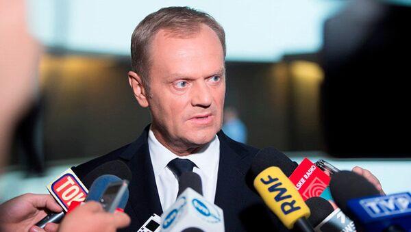 Người đứng đầu Hội đồng châu Âu Donald Tusk - Sputnik Việt Nam