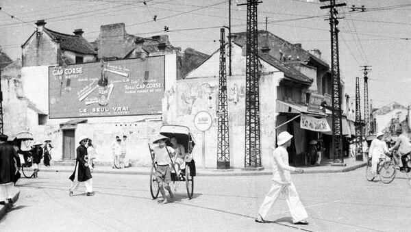 1940 - Góc Phố Hàng Gai - Hàng Đào - Sputnik Việt Nam