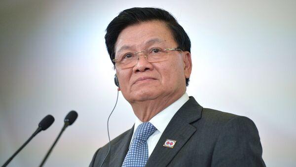 Tổng Bí mới của đảng Nhân dân Cách mạng Lào Thongloun Sisoulith - Sputnik Việt Nam