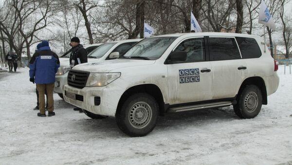 OSCE tại Donetsk - Sputnik Việt Nam
