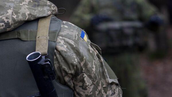 quân nhân Ukraine - Sputnik Việt Nam