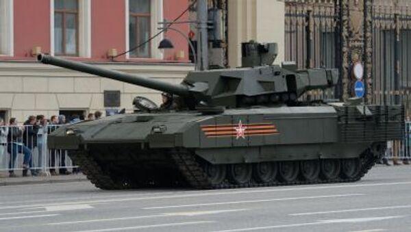 Xe tăng của Nga  T-14 Armata - Sputnik Việt Nam