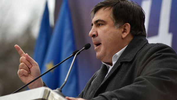cựu tổng thống Gruzia và cựu thống đốc tỉnh Odessa Mikhail Saakashvili - Sputnik Việt Nam