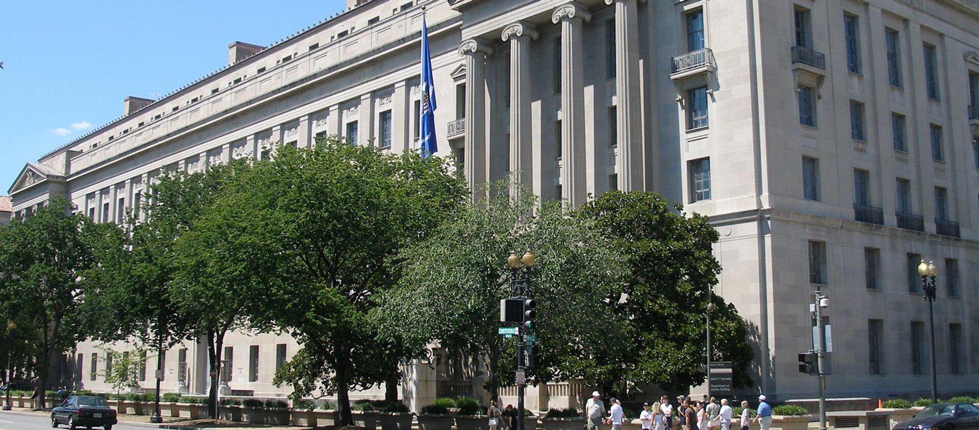 Bộ Tư pháp Mỹ - Sputnik Việt Nam, 1920, 08.05.2021