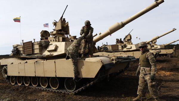xe tăng Mỹ Abrams - Sputnik Việt Nam