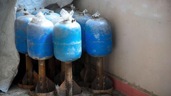 Rà phá bom mìn trên các khu phố Aleppo - Sputnik Việt Nam
