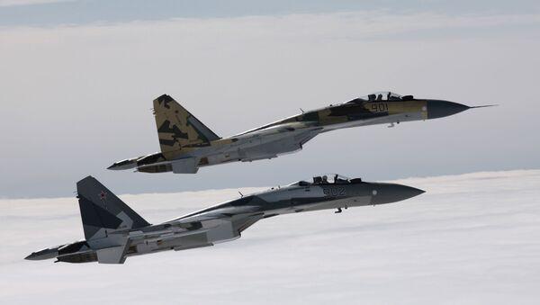 máy bay chiến đấu Su-35 - Sputnik Việt Nam