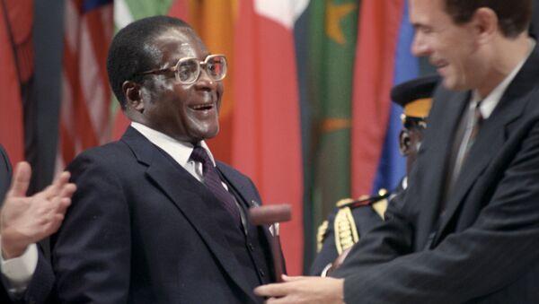 Robert Mugabe - Sputnik Việt Nam