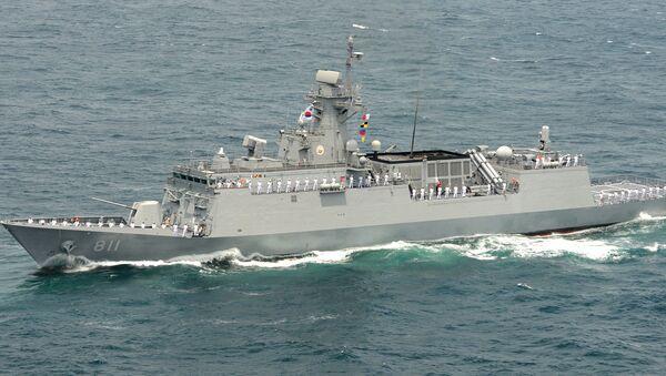 tàu khu trục Hàn Quốc - Sputnik Việt Nam