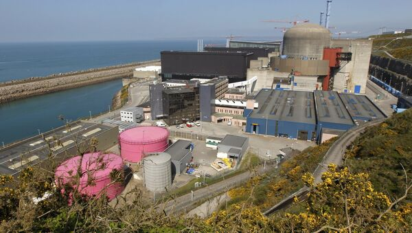 nhà máy điện hạt nhân đầu tiên Flamanville - Sputnik Việt Nam