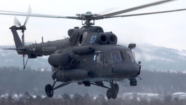 Mil Mi-8AMTSH-VA Arctic helicopter - Sputnik Việt Nam
