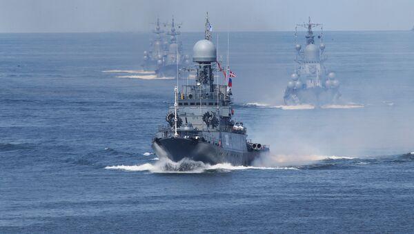 Các tàu của Hạm đội Baltic - Sputnik Việt Nam