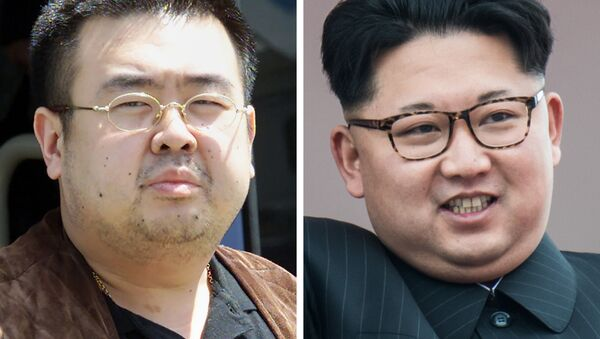 Kim Jong-Nam and Kim Jong-Un - Sputnik Việt Nam