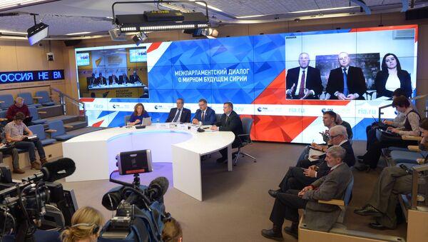 cầu video Moskva-Astana, do hãng truyền thông quốc tế Rossiya Segodnya tổ chức - Sputnik Việt Nam