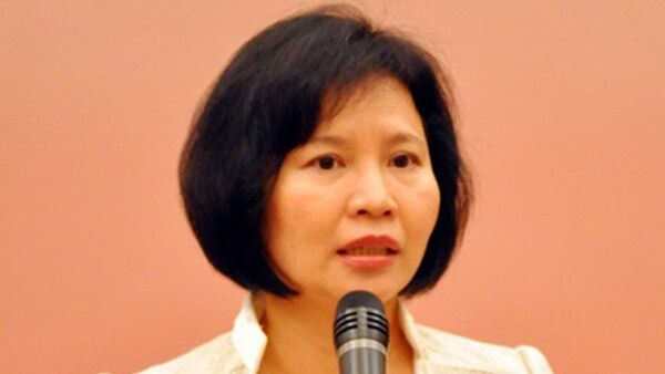 Bà Hồ Thị Kim Thoa - Sputnik Việt Nam
