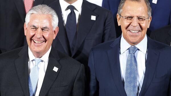 Sergey Lavrov và Rex Tillerson - Sputnik Việt Nam
