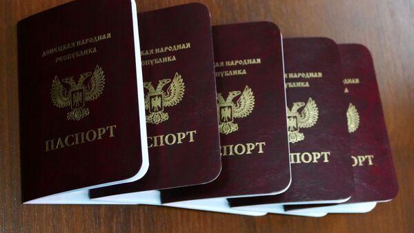 hộ chiếu DNR - Sputnik Việt Nam