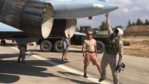 máy bay Nga ở Syria - Sputnik Việt Nam