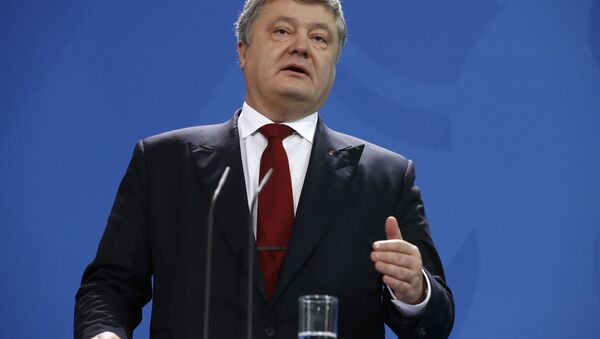 tổng thống Ukraina Petro Poroshenko - Sputnik Việt Nam