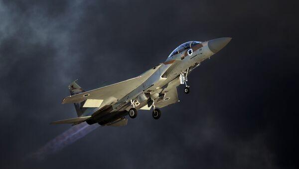 Máy bay chiến đấu Israel F-15 E - Sputnik Việt Nam