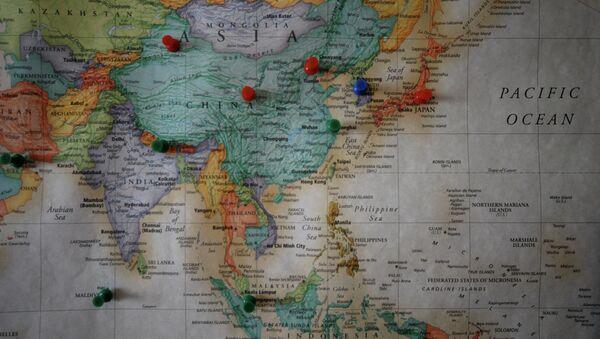 Travel Map : Asia - Sputnik Việt Nam