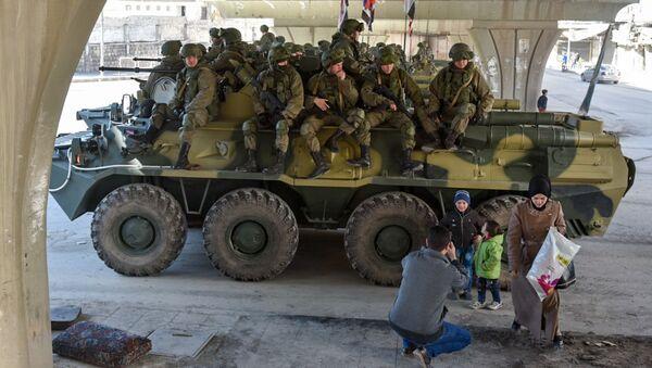 nhóm quân Nga tại Syria - Sputnik Việt Nam