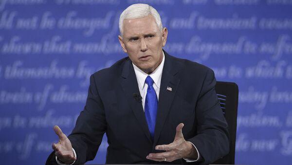 Кандидат в вице-президенты США от Республиканской партии Майк Пенс - Sputnik Việt Nam