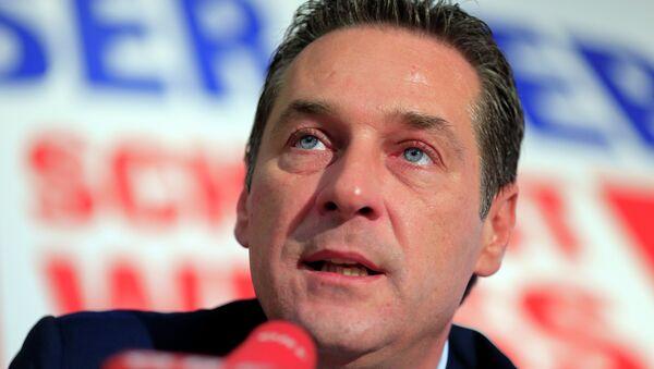 lãnh đạo của Đảng Tự do Áo Heinz-Christian Strache - Sputnik Việt Nam