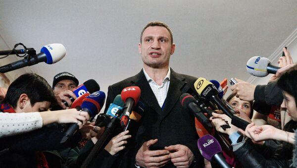 Thị trưởng Kiev Vitaly Klitschko - Sputnik Việt Nam