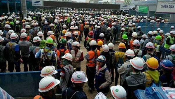 Bạo loạn tại Samsung Bắc Ninh - Sputnik Việt Nam