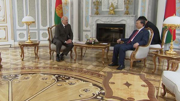 Nhà lãnh đạo Belarus gặp với Bộ trưởng Bộ công an Việt Nam Tô Lâm - Sputnik Việt Nam