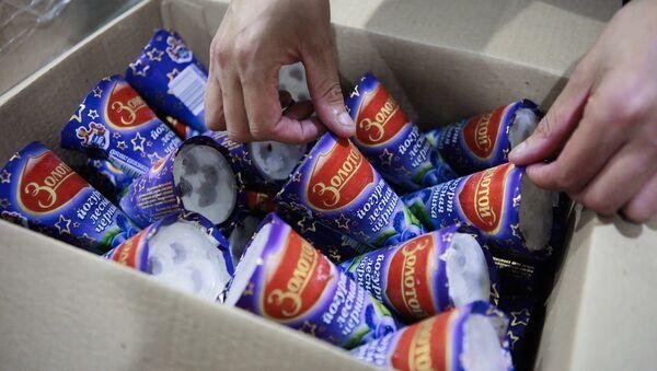 Thùng kem tại xí nghiệp - Sputnik Việt Nam
