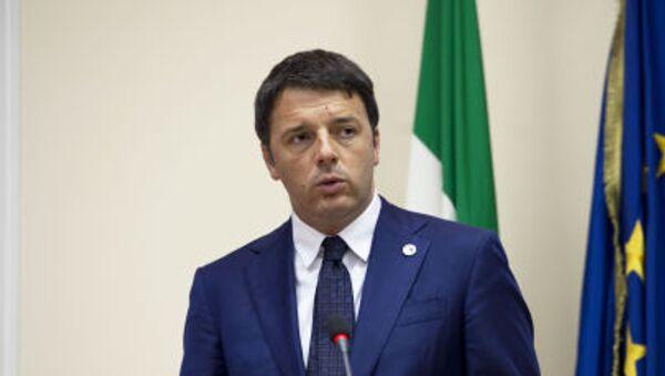 Thủ tướng Italia Matteo Renzi - Sputnik Việt Nam