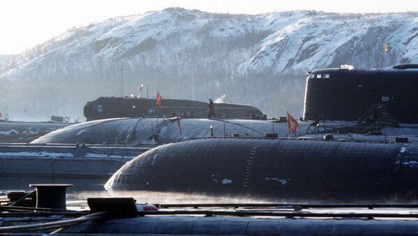 Tàu ngầm hạt nhân - Sputnik Việt Nam