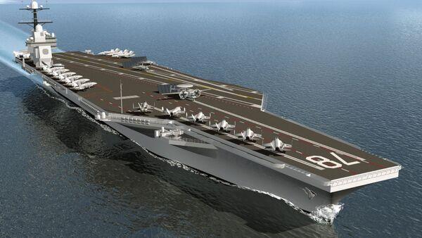 USS Gerald R. Ford - Sputnik Việt Nam