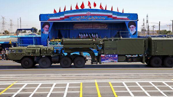 Hệ thống tên lửa phòng không S-300 ở Tehran - Sputnik Việt Nam