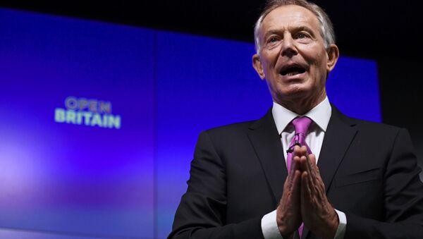 Tony Blair - Sputnik Việt Nam