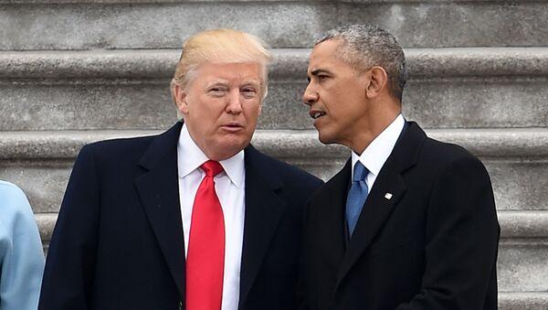 Donald Trump, Barack Obama - Sputnik Việt Nam