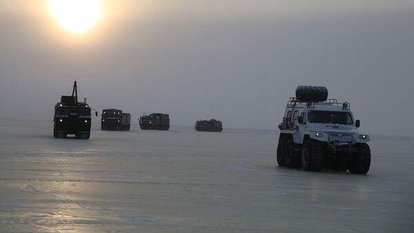 Nga bắt đầu thử nghiệm những thiết bị quân sự mới nhất dành cho Bắc Cực - Sputnik Việt Nam