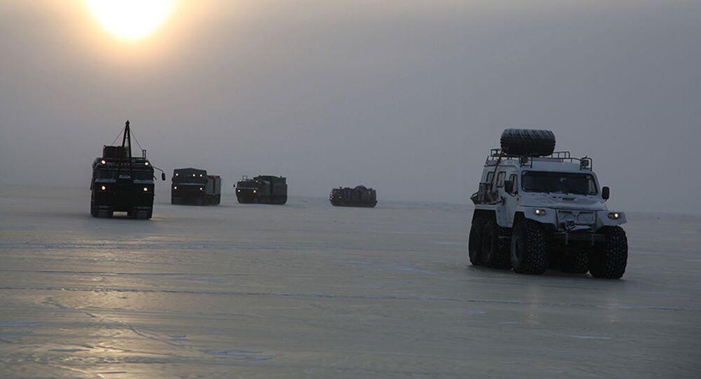 Nga bắt đầu thử nghiệm những thiết bị quân sự mới nhất dành cho Bắc Cực