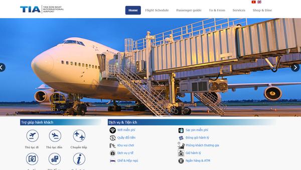 website sân bay Tân Sơn Nhất - Sputnik Việt Nam