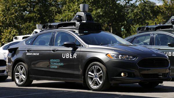 xe hơi không người lái Uber - Sputnik Việt Nam