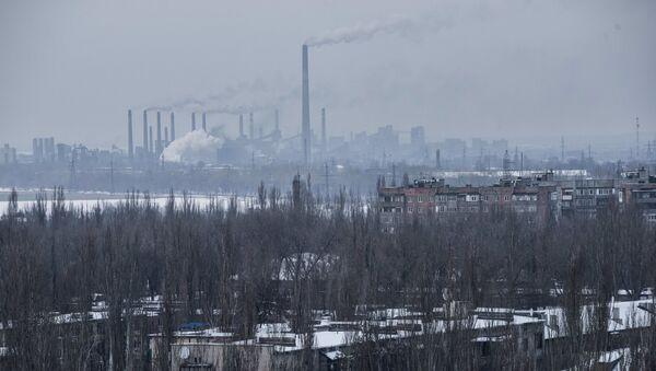 Коксохимический завод в городе Авдеевка под Донецком - Sputnik Việt Nam