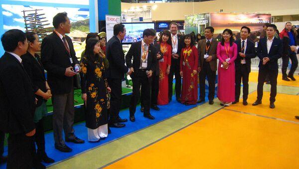Hội chợ du lịch quốc tế MITT ở Matxcơva - Sputnik Việt Nam